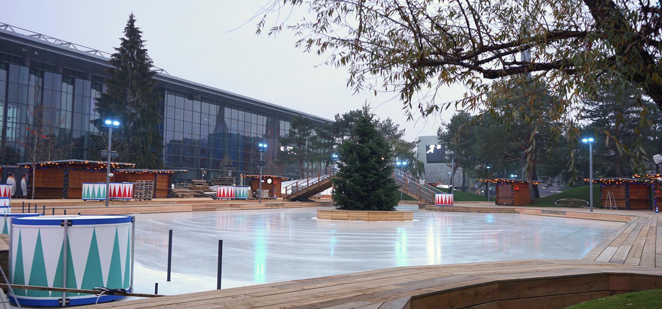 Hinter den Kulissen: Traumhafte Winterwelt in der Autostadt in Wolfsburg